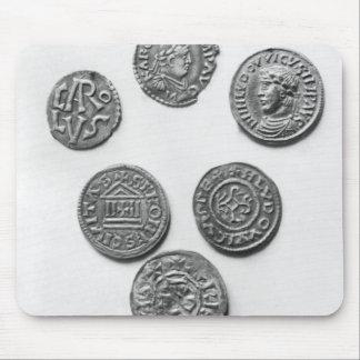Eight Carolingian coins Mousepad