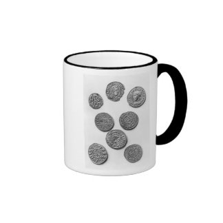 Eight Carolingian coins Ringer Mug