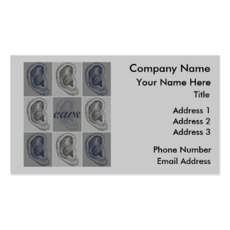 Eight Ears Pack Of Standard Business Cards
