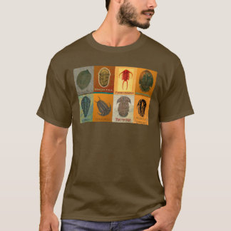 Eight Fossil Trilobites T-Shirt