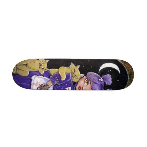 Eight lives left - Scateboard Skate Board Deck