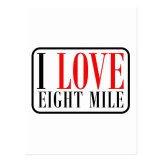 Eight Mile, Alabama Postcard