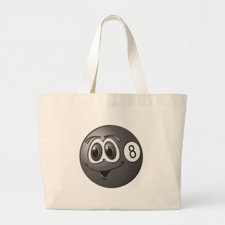 Eight Pool Ball Cartoon Bags