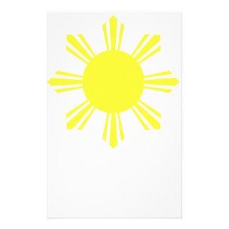 Eight Ray Sun Stationery