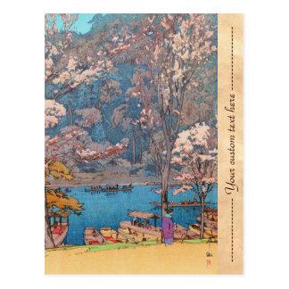 Eight Scenes of Cherry Blossoms, Arashiyama Postcard