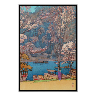 Eight Scenes of Cherry Blossoms, Arashiyama Poster