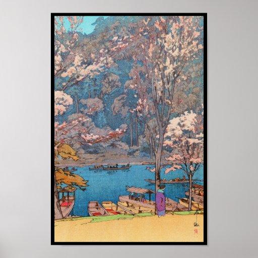Eight Scenes of Cherry Blossoms, Arashiyama Poster