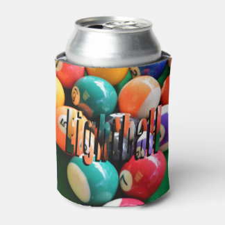 Eightballs, And Eightball Logo Can Stubby  Holder Can Cooler