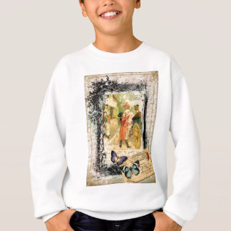 Eighteenth Century Couple Wedding Carriage Sweatshirt