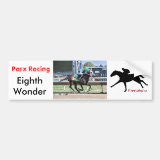 Eighth Wonder by Pioneer of the Nile Bumper Sticker