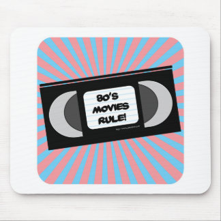 Eighties Movies Rule Mouse Mat