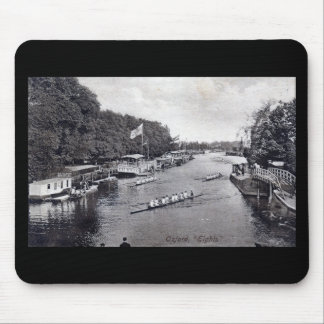 Eights Crew Rowing, Oxford England Vintage Mouse Pad