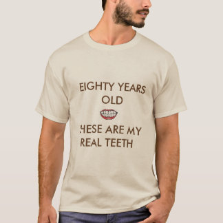 EIGHTY AND REAL TEETH BASIC SAND T-SHIRT