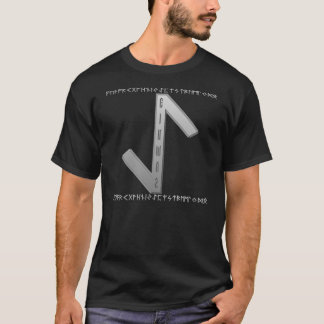 Eihwaz Rune grey T-Shirt