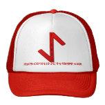Eihwaz Rune red Cap