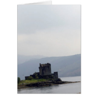 Eilean Donan Castle and the bridge over the loch Greeting Card