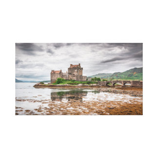 Eilean Donan Castle Art-like Canvas Print