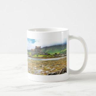 Eilean Donan Castle colour Coffee Mugs