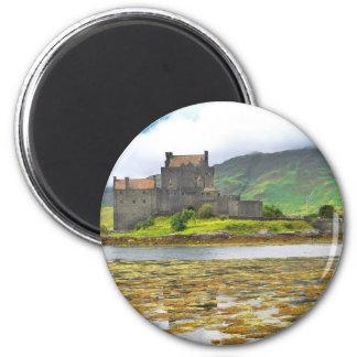 Eilean Donan Castle colour Refrigerator Magnet