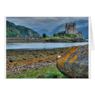 Eilean Donan Castle HDR Greeting Cards