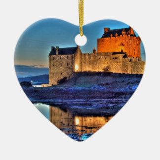 Eilean Donan Castle HDR Christmas Ornament