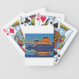 Eilean Donan Castle HDR Playing Cards