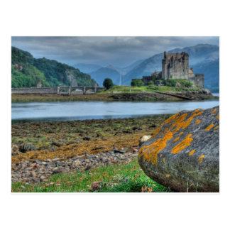 Eilean Donan Castle HDR Post Cards