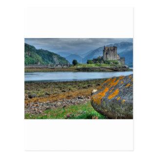 Eilean Donan Castle HDR Postcard