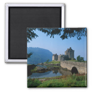 Eilean Donan Castle, Highlands, Scotland 2 Square Magnet