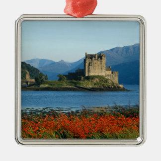 Eilean Donan Castle, Highlands, Scotland 3 Christmas Ornament