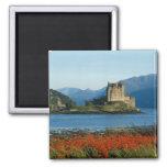 Eilean Donan Castle, Highlands, Scotland 3 Square Magnet