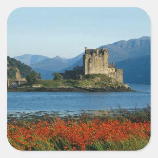 Eilean Donan Castle, Highlands, Scotland 3 Square Sticker