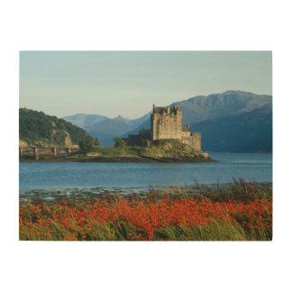 Eilean Donan Castle, Highlands, Scotland 3 Wood Wall Art