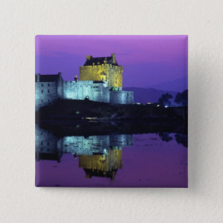 Eilean Donan Castle, Highlands, Scotland 4 15 Cm Square Badge