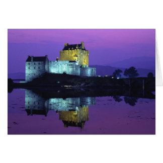 Eilean Donan Castle, Highlands, Scotland 4 Greeting Cards