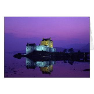 Eilean Donan Castle Highlands Scotland Card