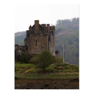 Eilean Donan Castle in the Scottish Highlands Postcard
