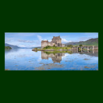 Eilean Donan Castle Panorama, Scotland Photo Print