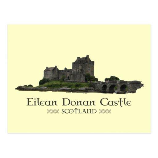 Eilean Donan Castle Post Card