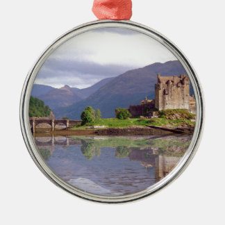 Eilean Donan castle reflection Christmas Ornament