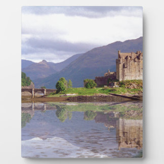 Eilean Donan castle reflection Display Plaques