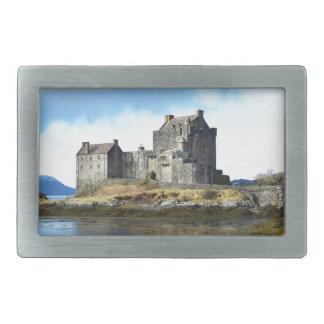 'Eilean Donan Castle' - Scotland Rectangular Belt Buckle