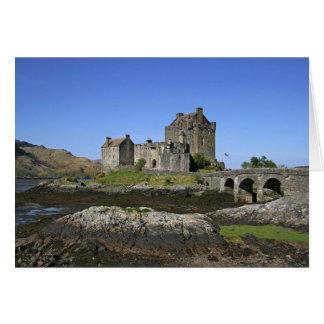 Eilean Donan Castle, Scotland. The famous Eilean 2 Card