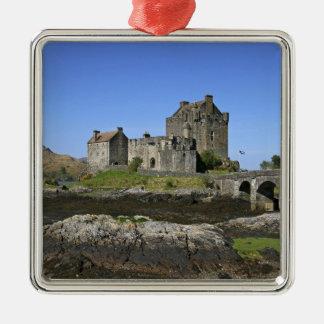 Eilean Donan Castle, Scotland. The famous Eilean 2 Christmas Ornament