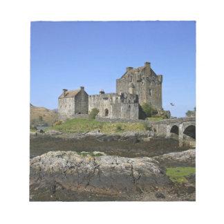 Eilean Donan Castle, Scotland. The famous Eilean 2 Notepad