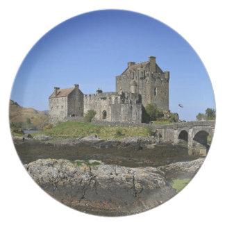 Eilean Donan Castle, Scotland. The famous Eilean 2 Plate