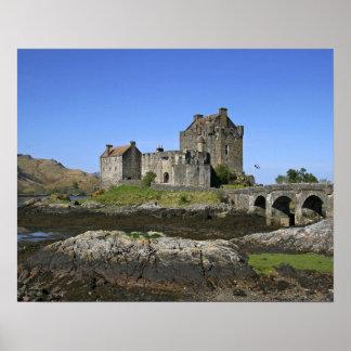 Eilean Donan Castle, Scotland. The famous Eilean 2 Poster