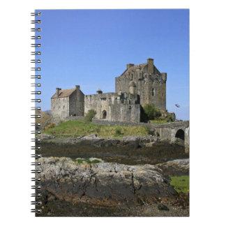 Eilean Donan Castle, Scotland. The famous Eilean 2 Spiral Notebooks