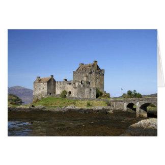 Eilean Donan Castle, Scotland. The famous Eilean 3 Greeting Cards