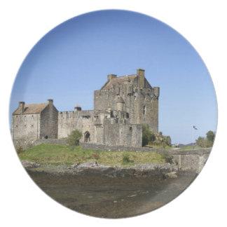 Eilean Donan Castle, Scotland. The famous Eilean 3 Plate